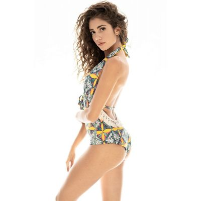 "Bikini Parthenope hmlf23 ""Nomade"" art15_hmlf23 Hamalfitè BIKINI PARTHENOPE - Nomadic Collection  inspired swimsuits by the am..."