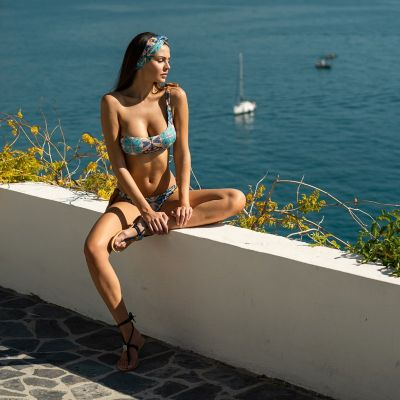 Venere Bikini brassiere hmlf34, normal or one-shoulder top art32_hmlf34 Hamalfitè 65,00 € Swimsuit amalfi coast, positano, ca...