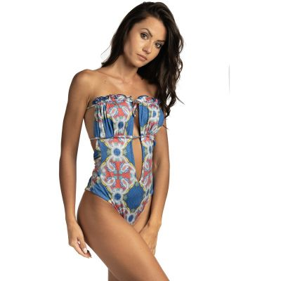Isabel one-piece swimsuit with hand-painted print hmlf37 art35_hmlf37 Hamalfitè 75,00 € Swimsuit amalfi coast, positano, capr...