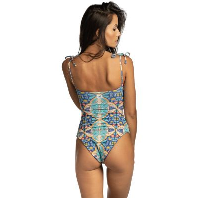 Calipso one-piece swimsuit with hand-painted ceramics hmlf34 art34_hmlf34 Hamalfitè 80,00 € Swimsuit amalfi coast, positano, ...